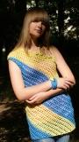 Платье-туника  Солнечный луч