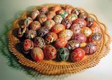 Писанки. Как красить яйца на Пасху